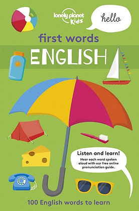 First Words - English 1st Ed. (Lonely Planet Kids)