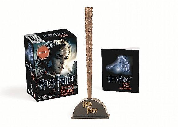 Harry Potter Hermione's Wand & Sticker Kit