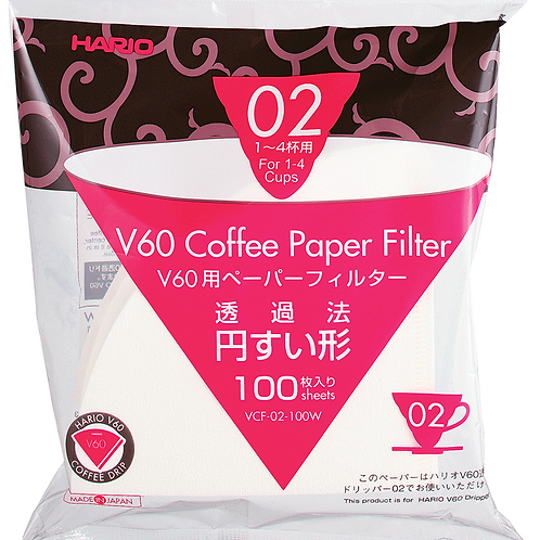 Hario V60 Coffee Paper Filter 02