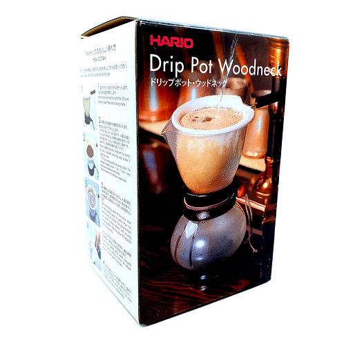 Hario Drip Pot Woodneck 240ml