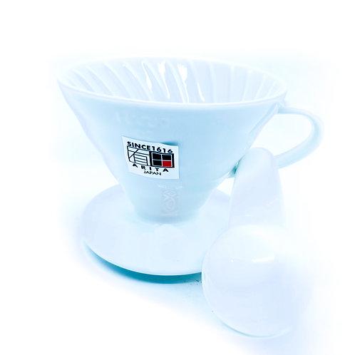 Hario v60 Dripper 02 Porcelain