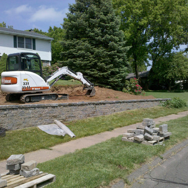 South Windsor Retaining Wall