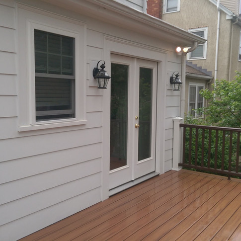 French Doors To Deck