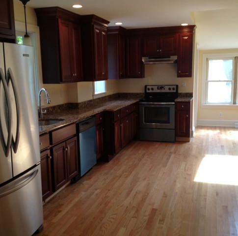Soutington, CT Cherry Kitchen Cabinets