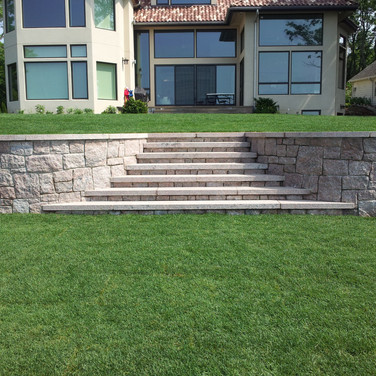 Stony Creek Granite Staircase