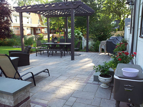 Concrete Paver Patio in West Hartford CT