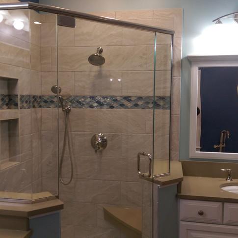 Huge Custom Shower