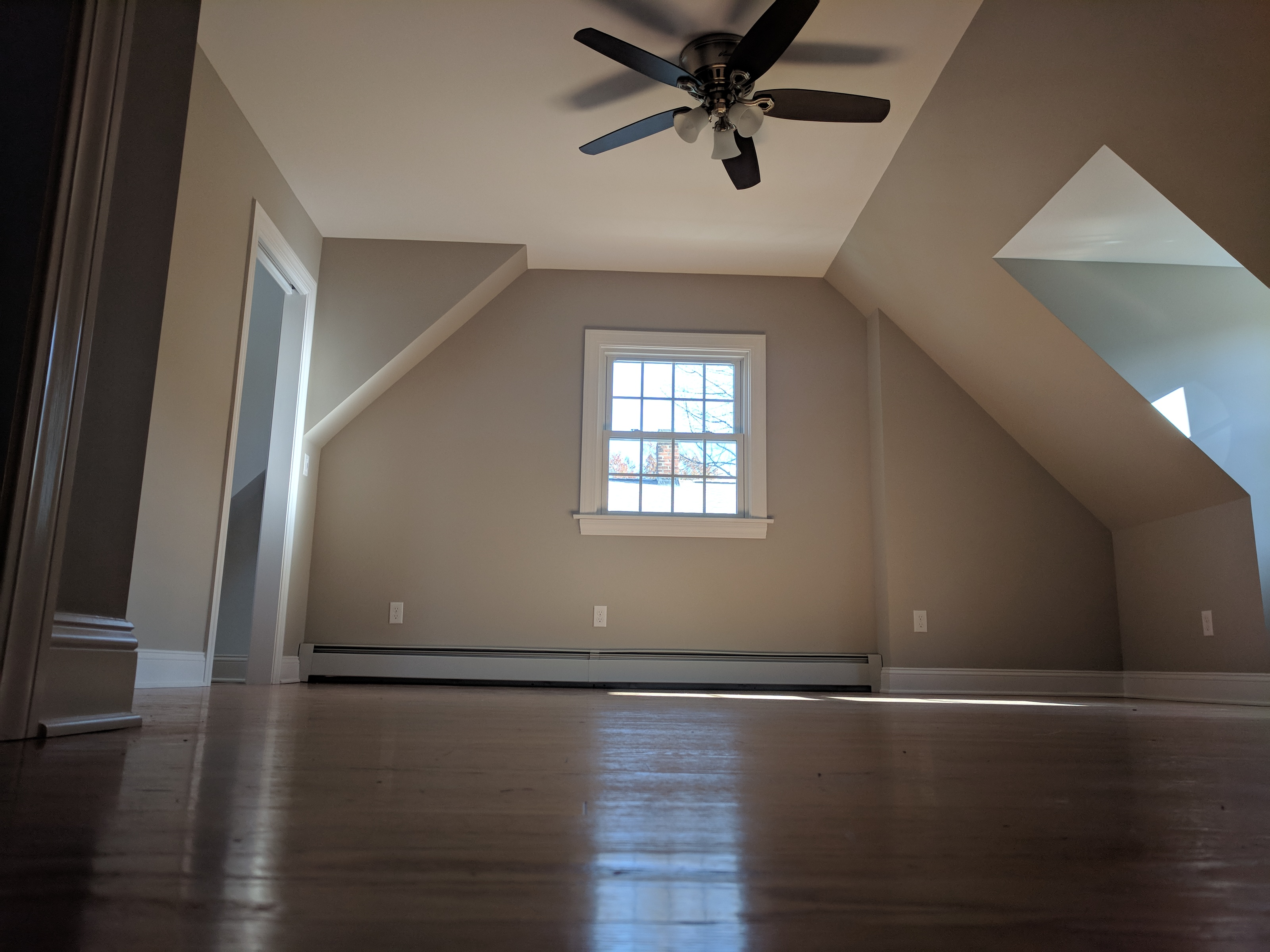 Gorgeous new expanded bedroom