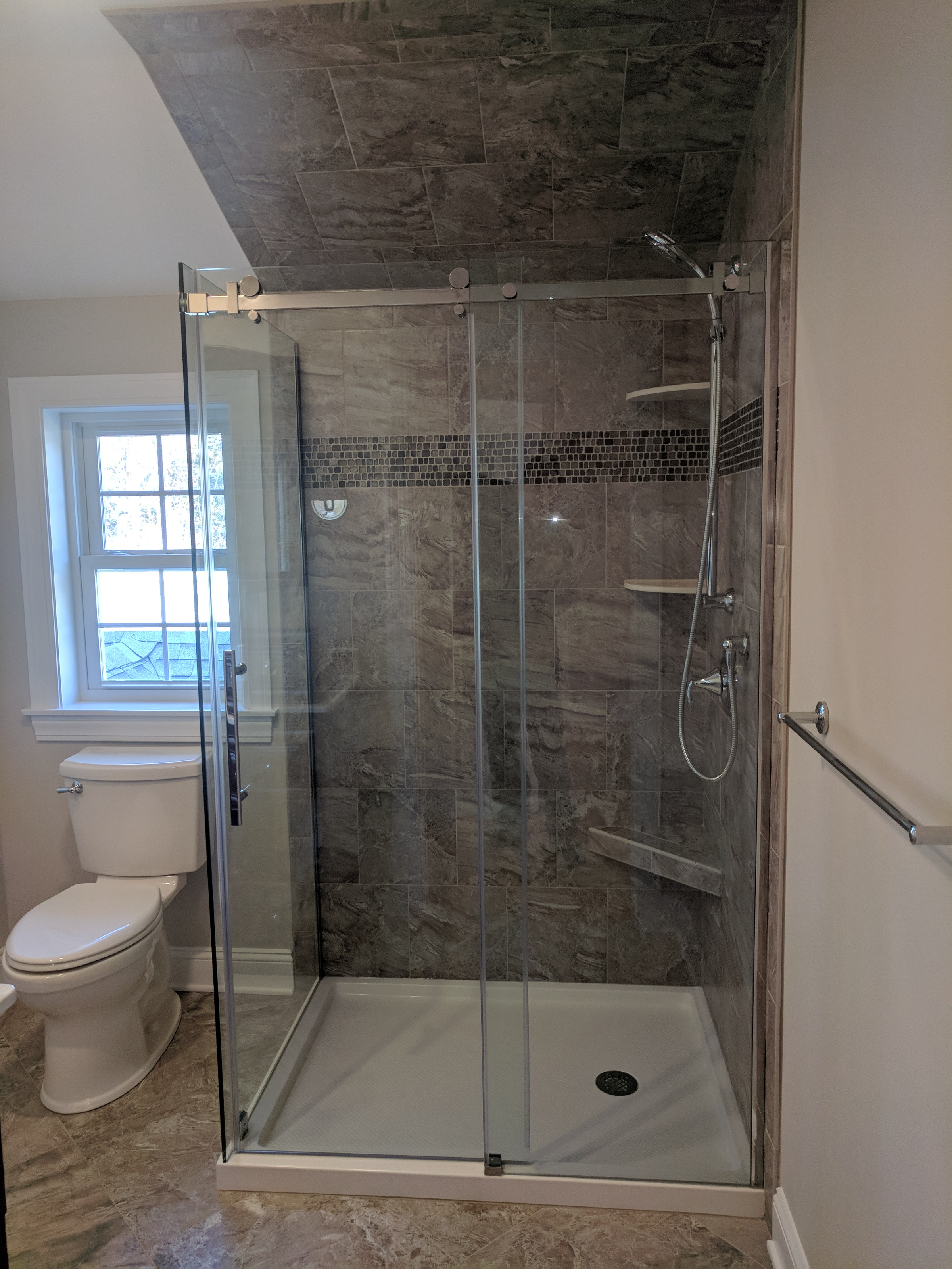 The additional full bath upstairs