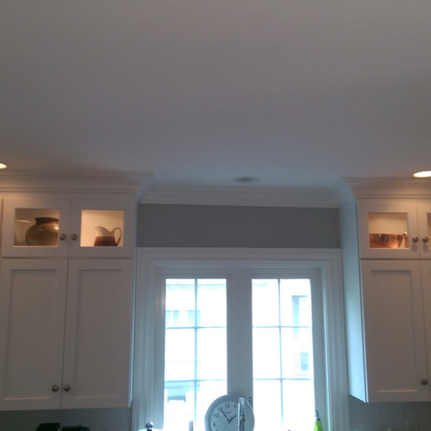 Crown Moulding and Window Casing
