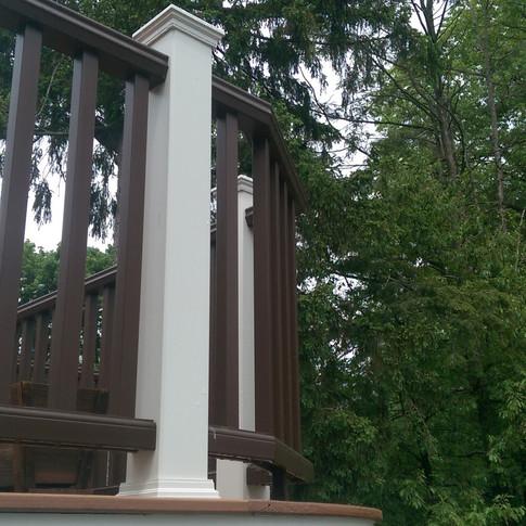 Deck curves around Wethersfield CT