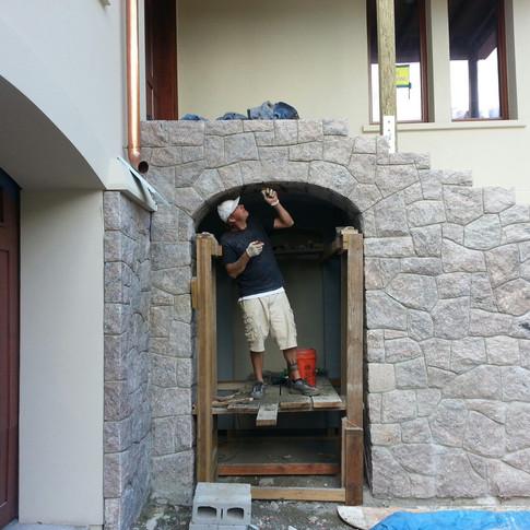 Stonebidge Working On Stone Arch
