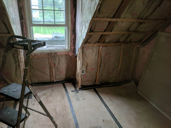 Framing and insulation