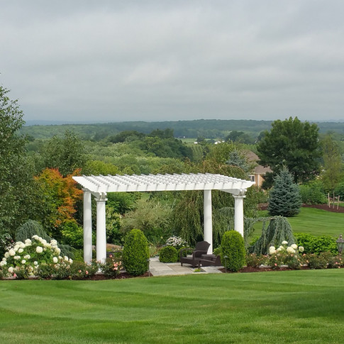 Pergola With A View