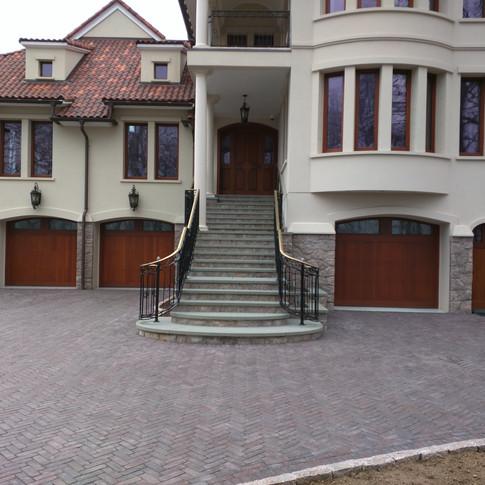 Granite Veneer House