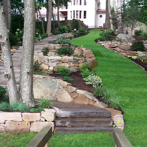 Meandering Lawn Path