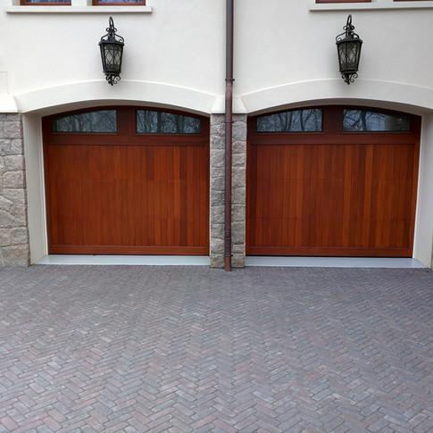 Garage Door Entrance View