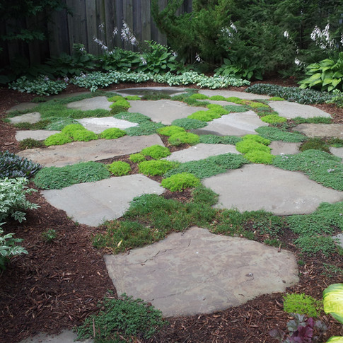 Secluded Stone Patio In West Hartford, CT