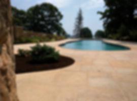 Dimensional Cedar Lake Granite Stone Patio Pool Surround