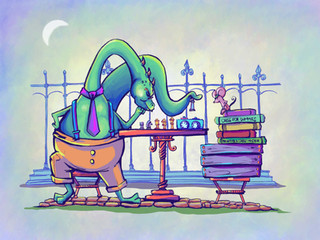 Simons-plays-chess