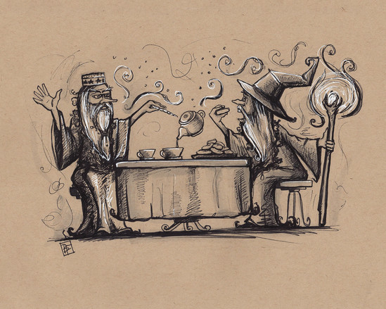 Wizard Tea Party