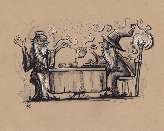 Wizard Tea Party