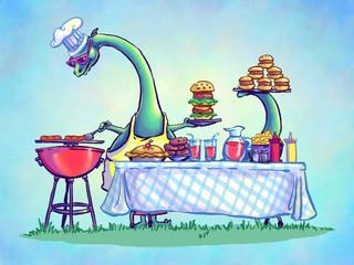 Simon-has-a-cookout