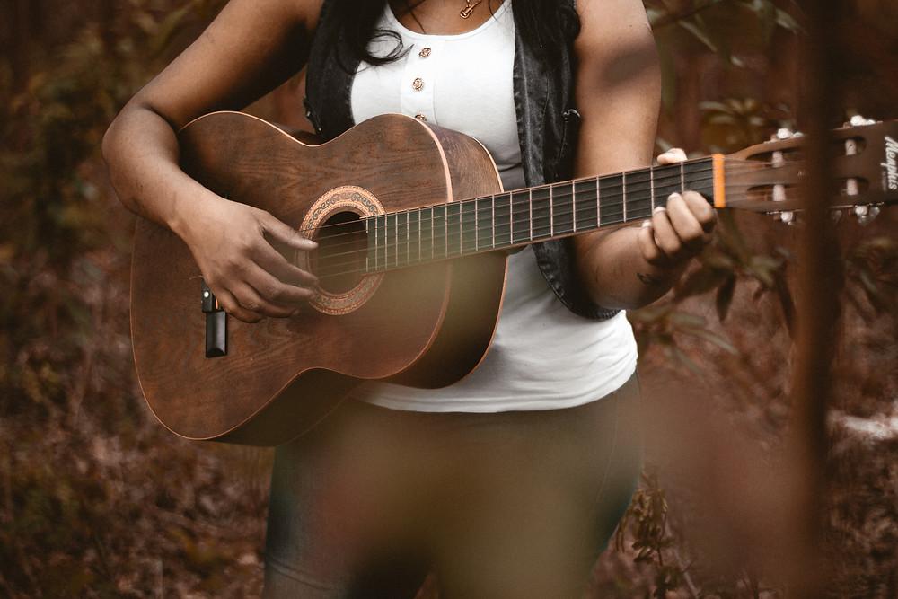 Wedding singer acoustic guitarist