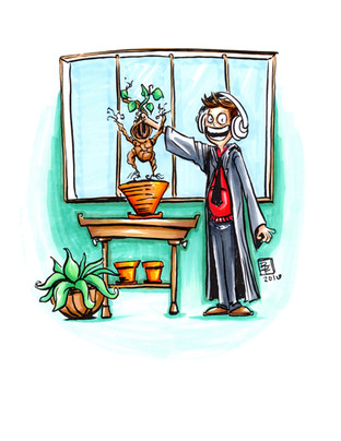 Neville and his Mandrake