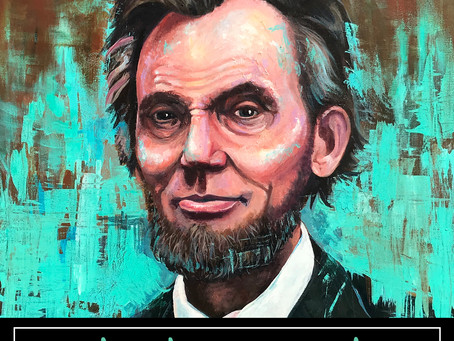 Honest Abe Painting