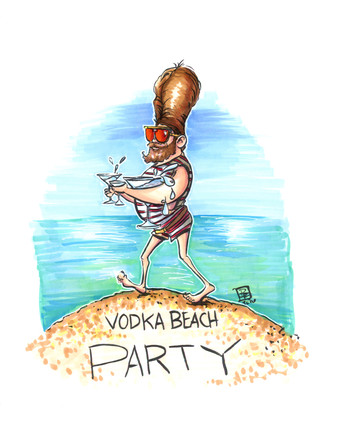 Vodka Beach Party