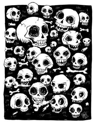 Skeleton Doodle
