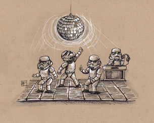 Storm Trooper Dance Party