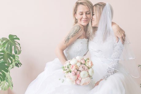 Two Beautiful Brides In Love