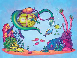 Simon-Goes-Scuba-Diving