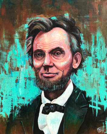Honest Abe Portrait