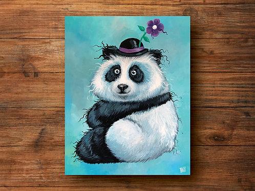 A Perfectly Plump Panda