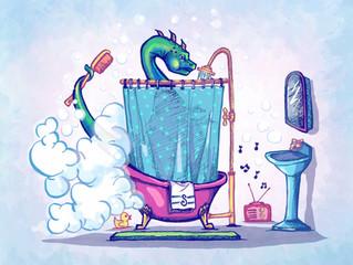 Simon-Takes-a-Shower