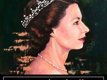 Queen Elizabeth II Portrait and Process