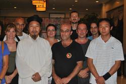 Con Serrato y Zhong Yun Long