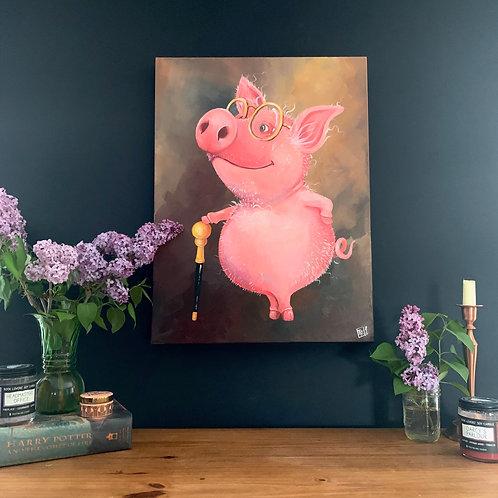 A Distinguished Ham
