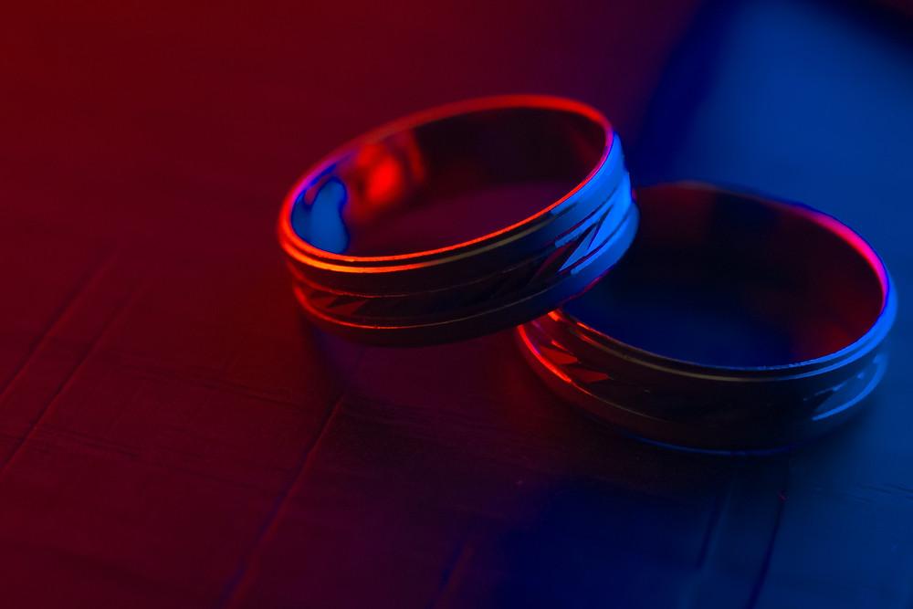 Same sex wedding rings