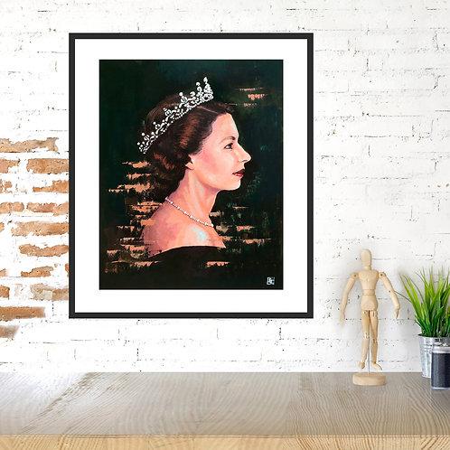 God Save the Queen Portrait