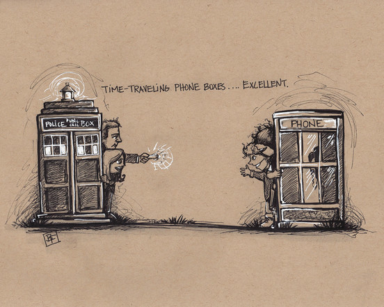 Time Travelling Phone Boxes