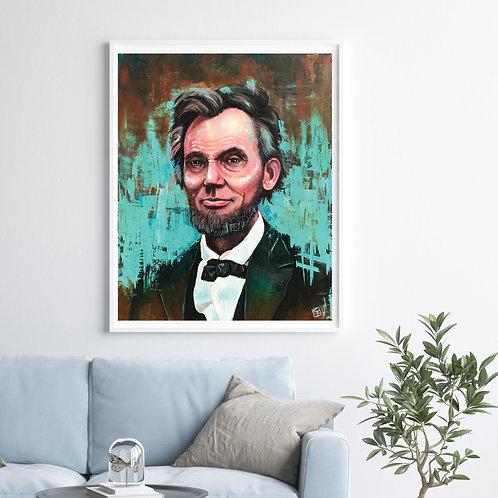 Honest Abe Portrait
