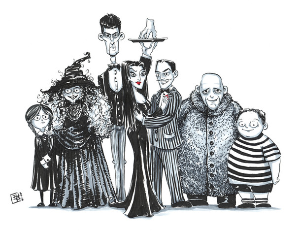 The Gothic Family