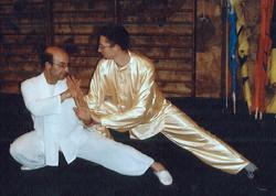 Con Shifu en el 2003