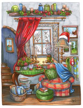 Cozy-Christmas-Holiday-Drawing