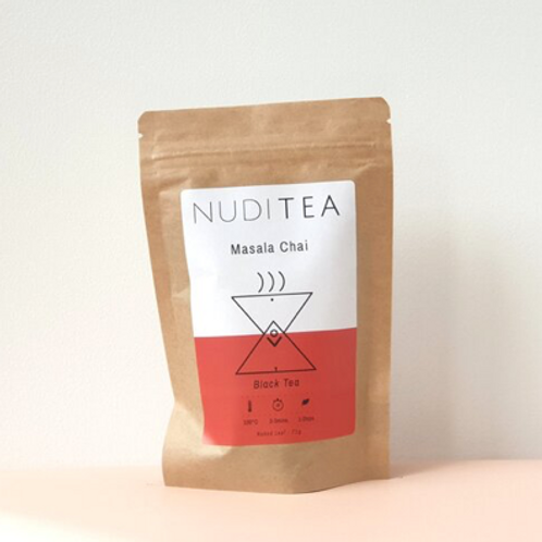 Nuditea - Masala Chai Loose Leaf Tea 30g