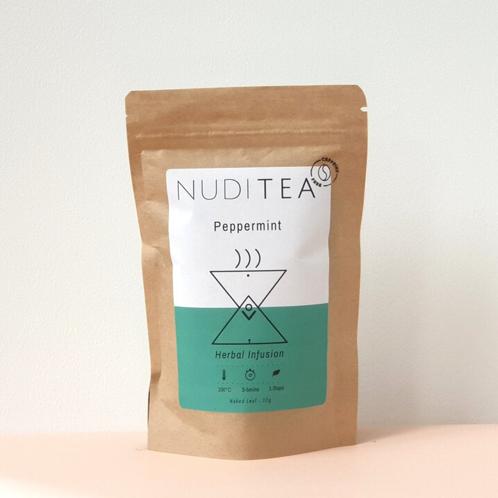 Nuditea- Peppermint Loose Leaf Tea 30g (15 Cups)